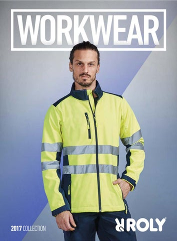 Merigor Aqui Uniformes Roly Collection Workwear 2017 by MERIGOR AQUI ... 0273734333f
