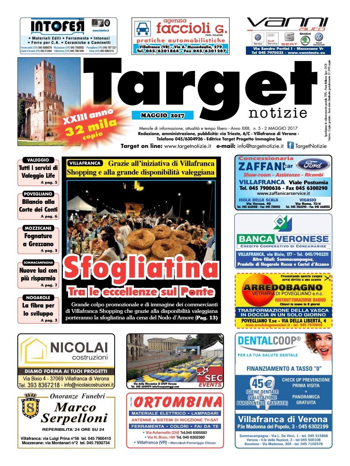 Targetnotizie 05 maggio 2017 by IsCharlie issuu