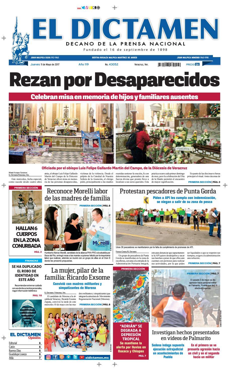 El Dictamen 11 de Mayo 2017 by El Dictamen - issuu 0fde9b45e7ca7