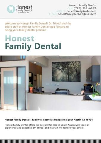 Honest Family Dental - Family & Cosmetic Dentist In South