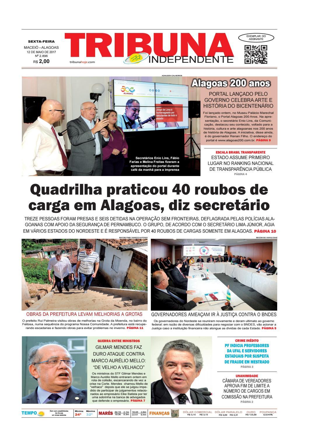 Edição número 2596 - 12 de maio de 2017 by Tribuna Hoje - issuu eb6ccb11e7