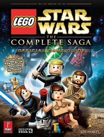 Lego Star Wars The Complete Saga Official Guide By