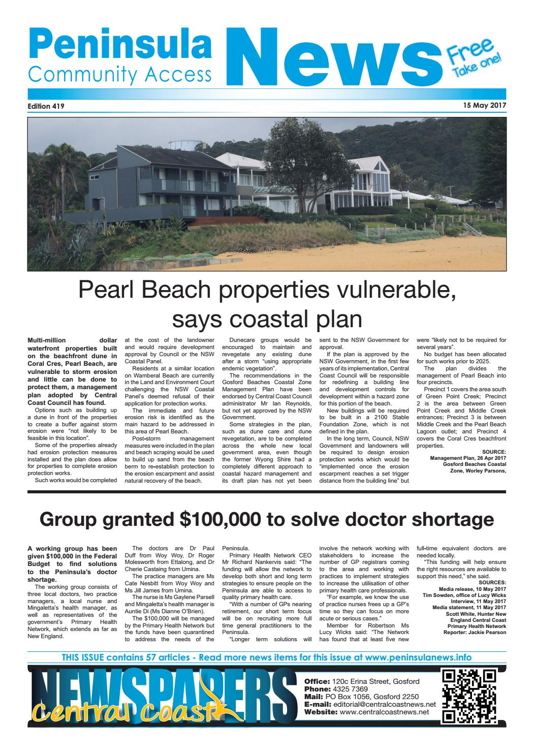 Peninsula news 419 by mark snell issuu geenschuldenfo Choice Image