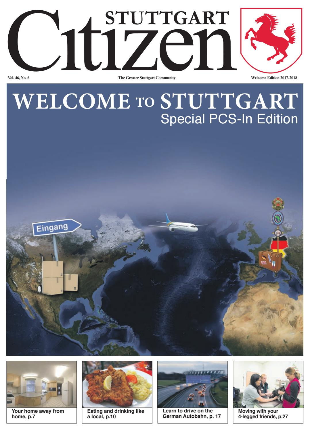 Eating Our Way Through Wisconsin Film 7228 >> May 12 Welcome To Stuttgart Edition 2017 2018 By Advantipro Gmbh