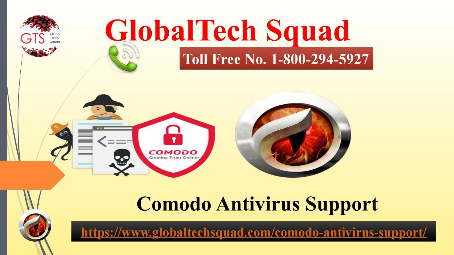 Comodo Antivirus Support | Toll Free Number 1-800-294-5907