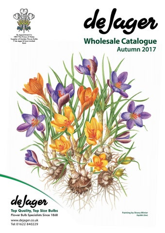 694d0caab415 By Appointment to HRH The Prince of Wales Supplier of Garden Flower Bulbs  P. de Jager & Sons Limited Kent. Wholesale Catalogue Autumn 2017