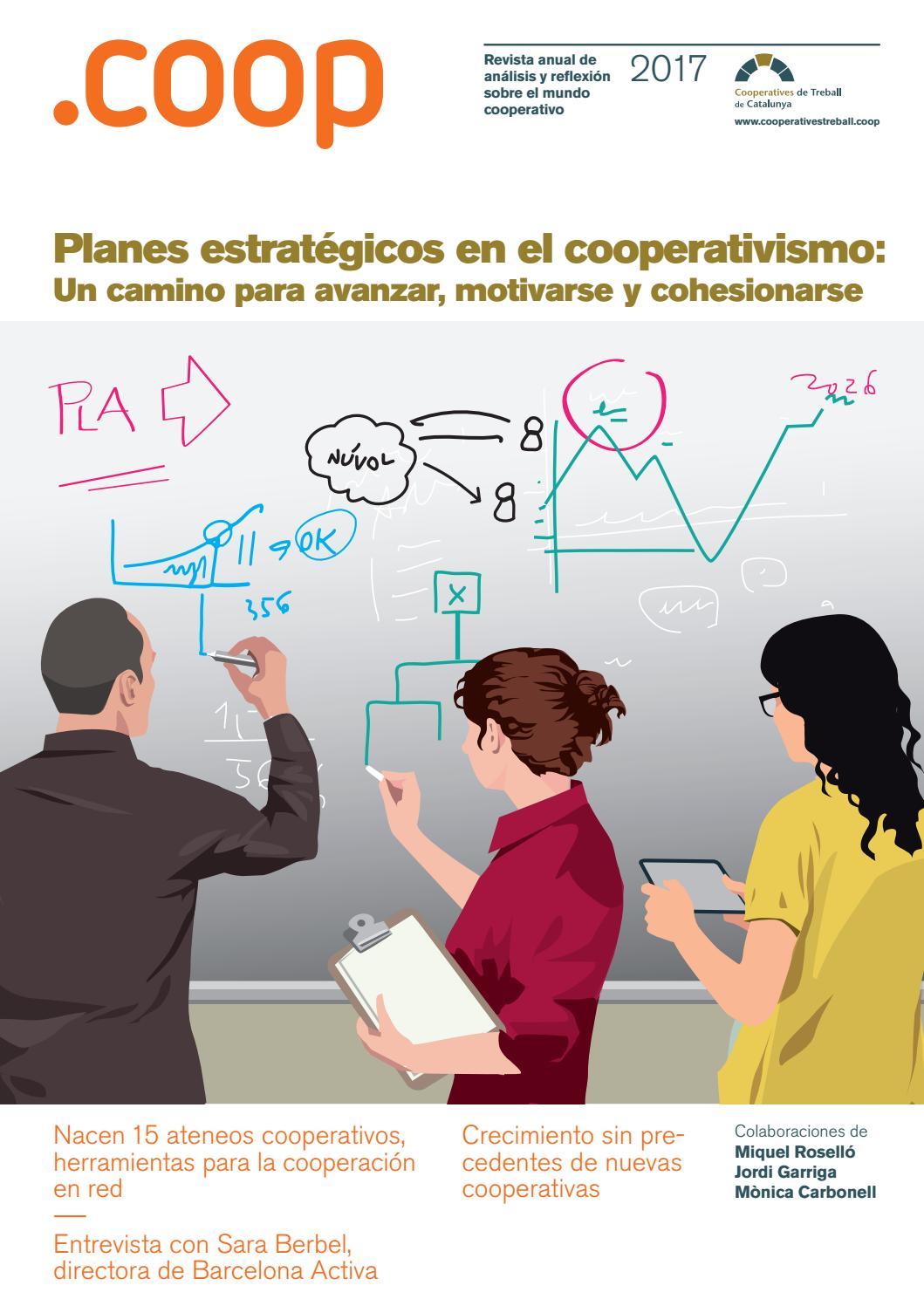 Revista Coop 2017 en español by Cooperatives Treball - issuu