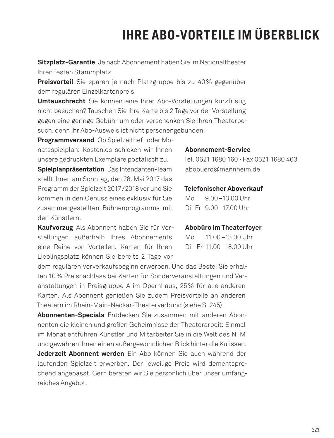 spielzeitheft 2017 2018 nationaltheater mannheim by nationaltheater mannheim issuu. Black Bedroom Furniture Sets. Home Design Ideas