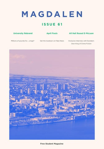 Issue 61 - April 2017 by The Magdalen - issuu