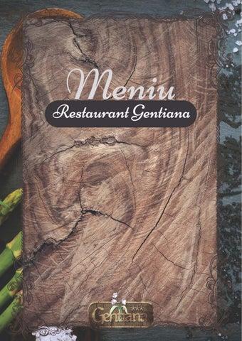 Meniu Restaurant Gentiana Nunta Brasov By Marian Giuglea Issuu