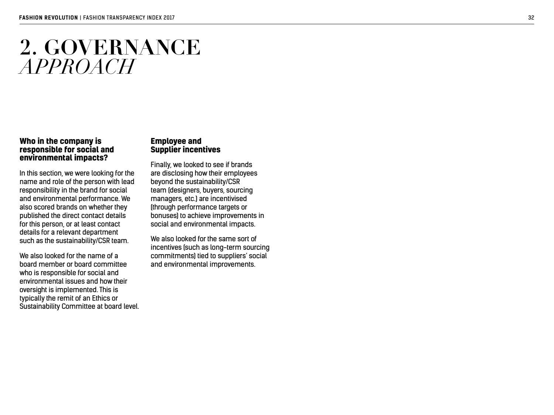 Fashion Transparency Index 2017 by Fashion Revolution - issuu