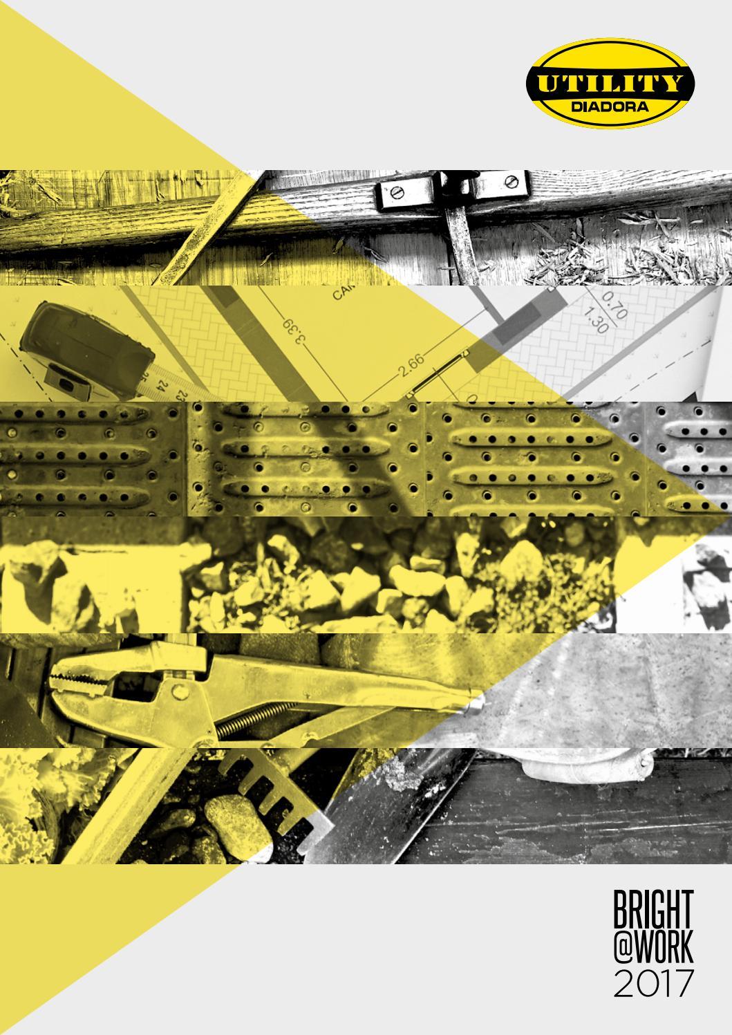 Utility Diadora Bermuda de Travail Bermuda Poly ISO 13688:2013 pour Homme