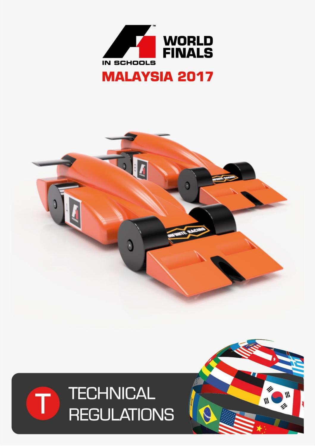 F1 In Schools World Finals Technical Regulations 2017 1 By F1 In Schools Thailand Issuu