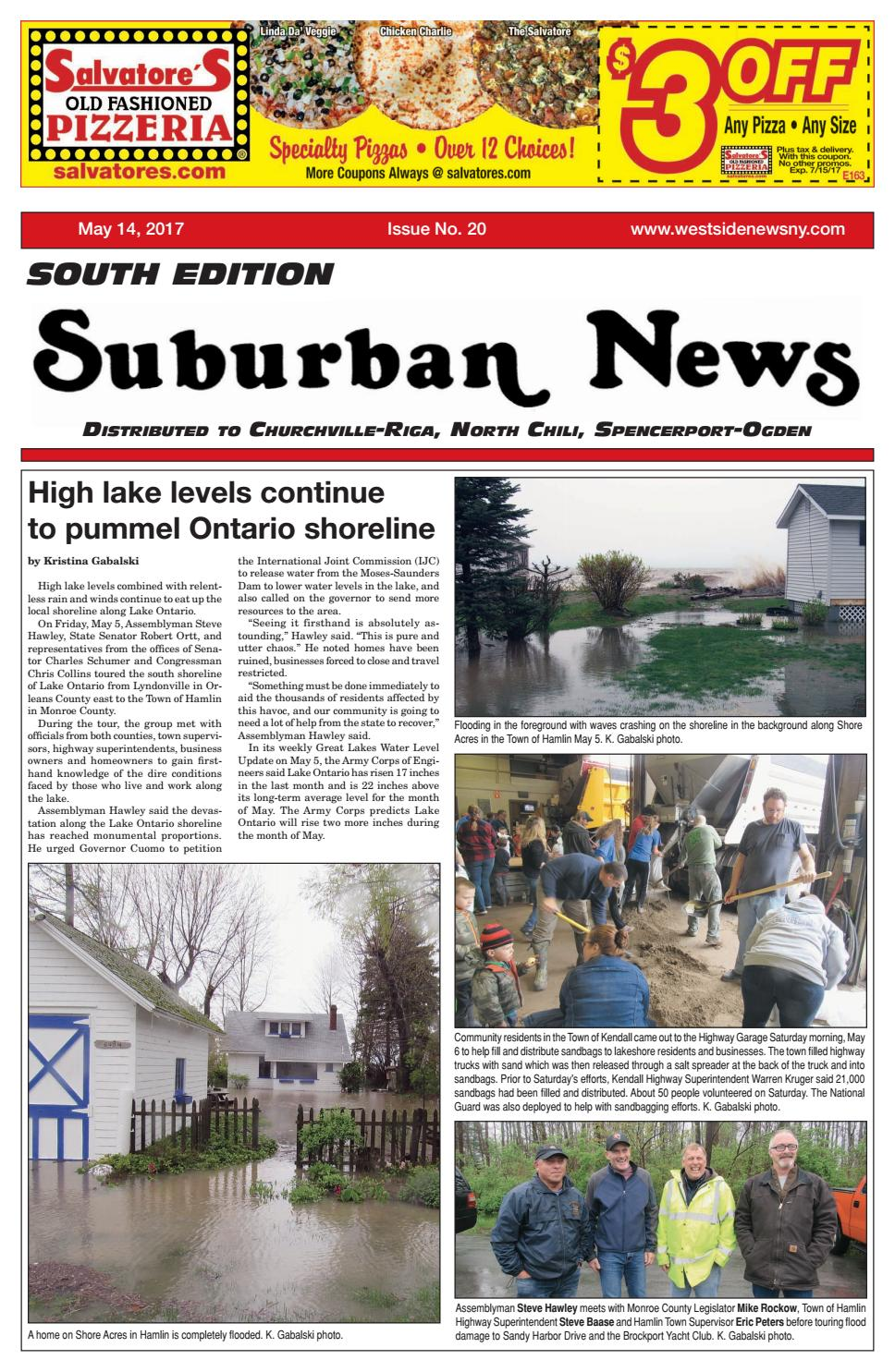 Suburban News South Edition  May 14, 2017 By Westside News Inc  Issuu