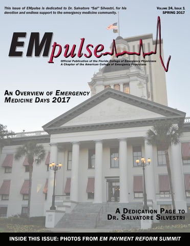 Empulse Spring 2017 By Florida College Of Emergency Physicians Issuu