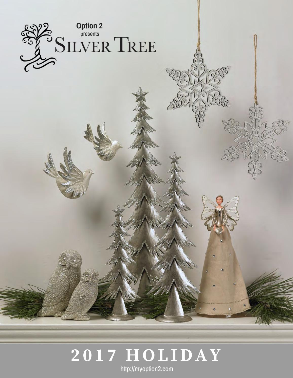FOREST FROST GLITTER DEER TREES BIRDS SNOWFLAKES FABRIC SILVER GLITTER NO 15