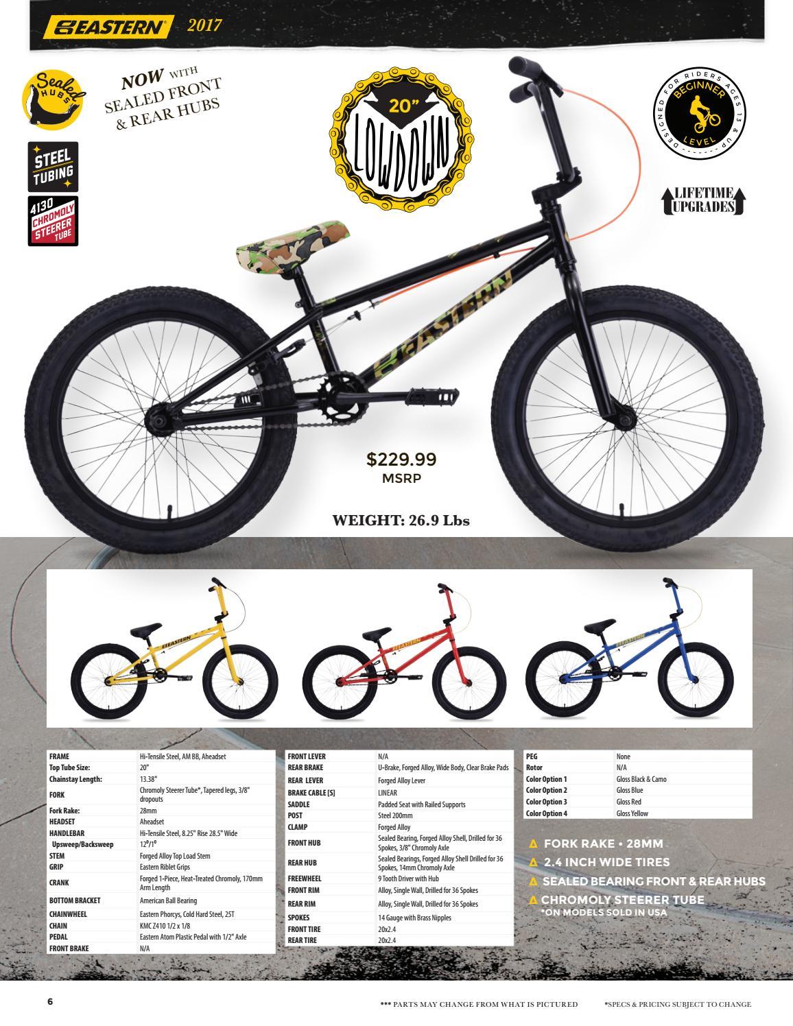 2017 Eastern Bikes Catalog by Eastern Bikes - issuu