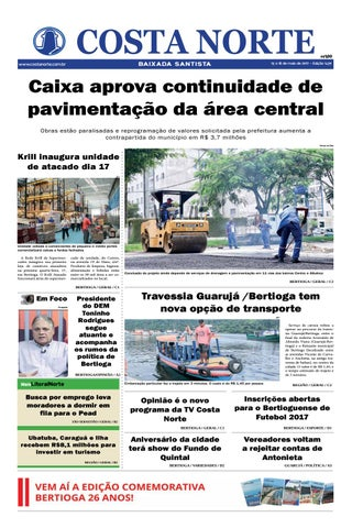 Jornal costa norte 1439 by Costa Norte - issuu 713717342588e