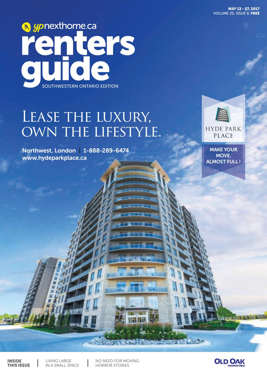 South Western Ontario Renters Guide - 13 May, 2017 by NextHome - issuu