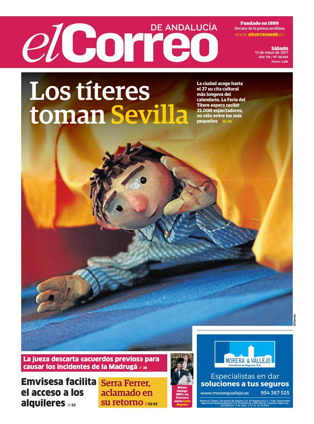 13 05 2017 El Correo de Andalucía by EL CORREO DE ANDALUCÍA S.L. - issuu