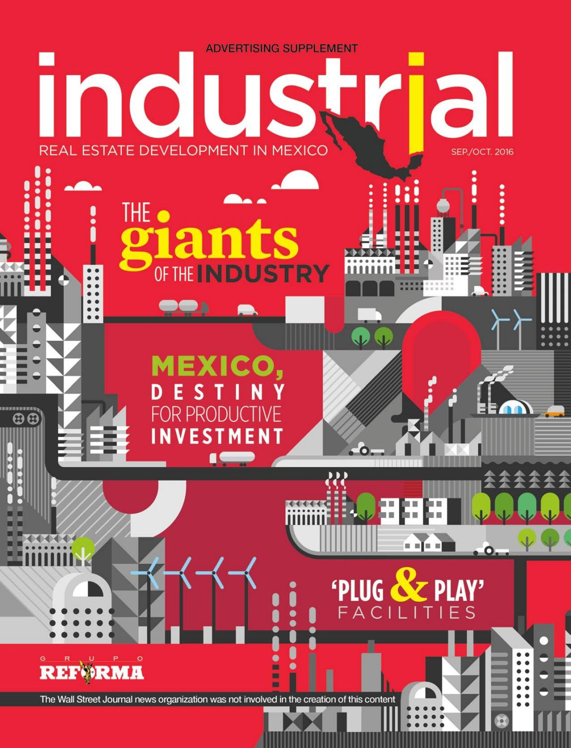 Industrial Real Estate Development In Mexico By Periódico