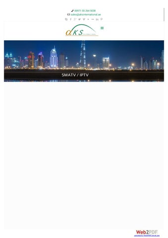 IPTV Box System In DUBAI by sana khan - issuu