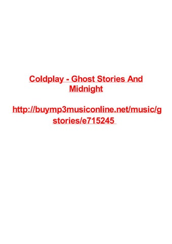 Coldplay ghost stories and midnight by Max Polansky - issuu
