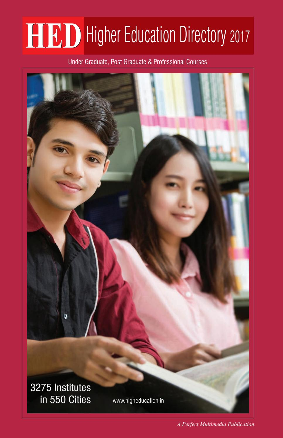 HED-Higher Education Directory 2017 by Perfect Multimedia