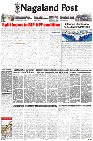 May 13, 2017 by Nagaland Post - issuu