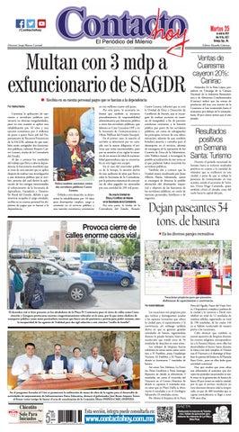 63fda19908bd0 Periódico Contacto hoy del 25 de abril del 2017 by Contacto hoy - issuu