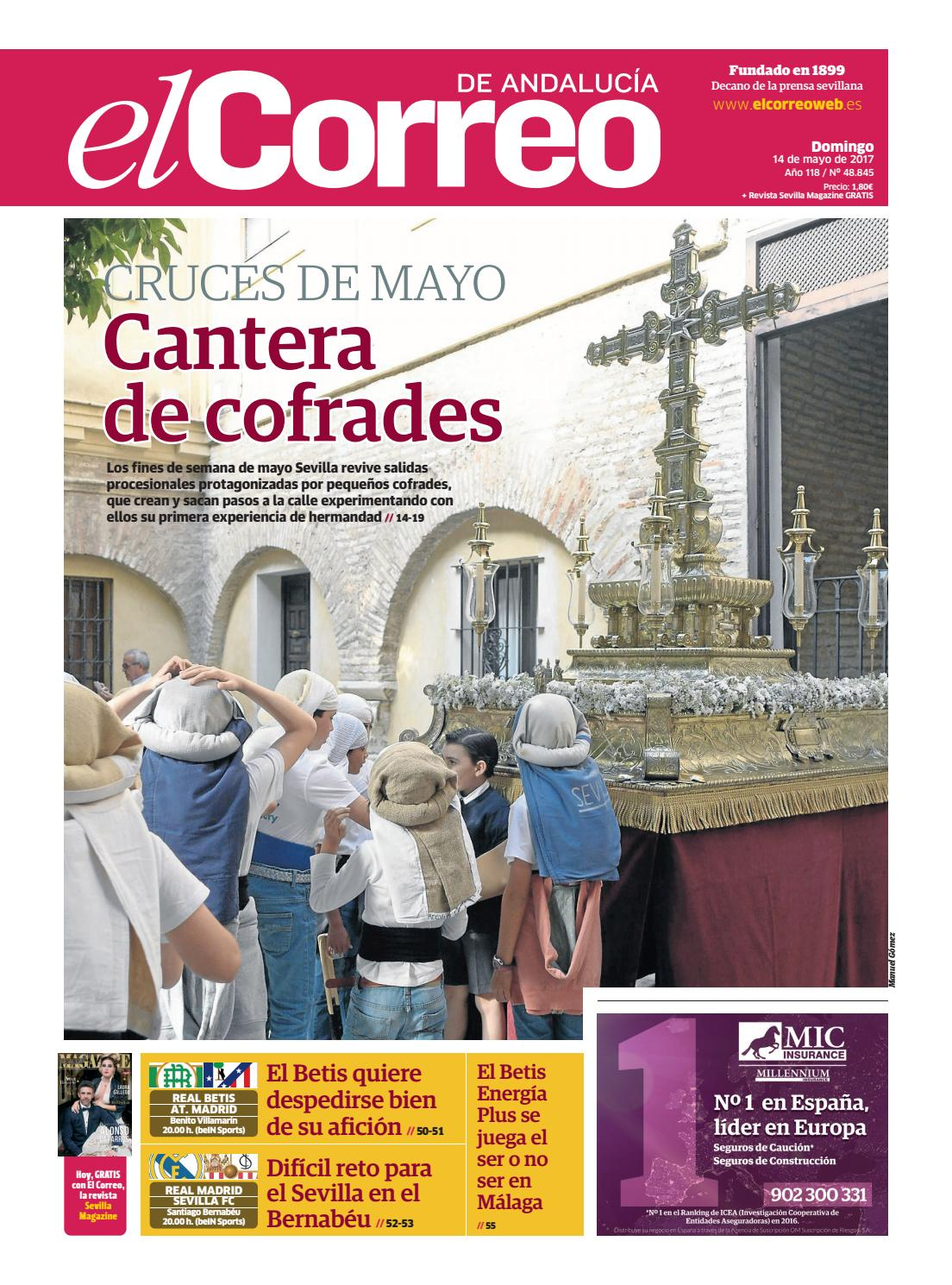 14 05 2017 El Correo De Andaluc A By El Correo De Andaluc A S L  # Muebles Sastre Viso Alcor