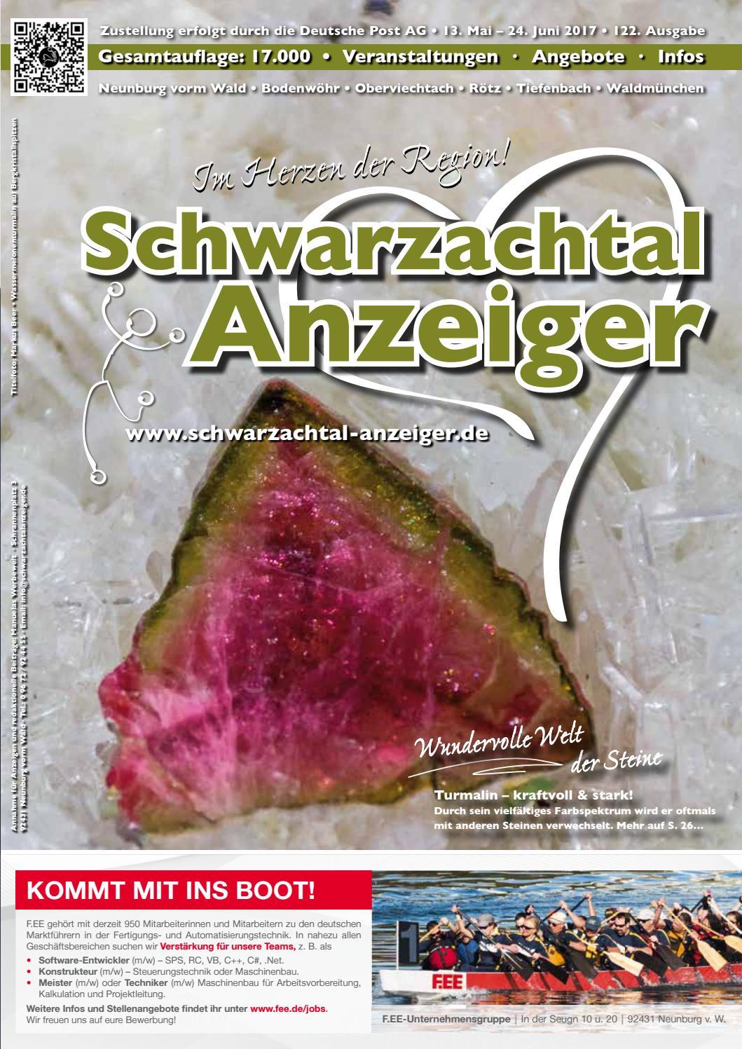 Schwarzachtalanzeiger Mai/Juni 2017 by Manu Mww - issuu