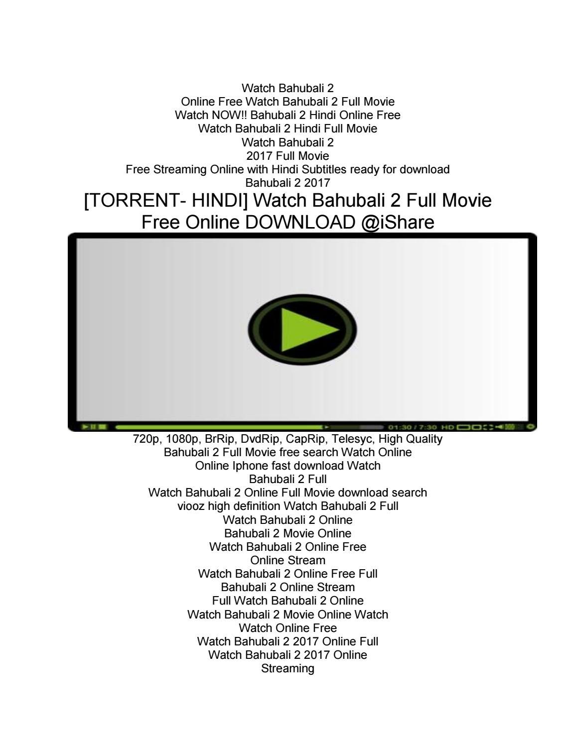 bahubali 2 full movie watch online in hindi free download