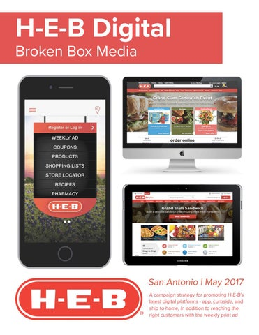 H E B Digital Advertising Campaign