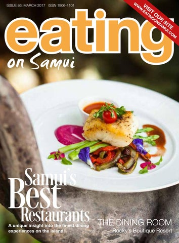 Eating on Samui - March 2017