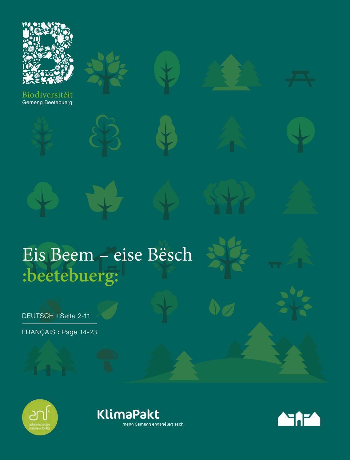 Eis Beem - eise Bësch by Commune de Bettembourg - issuu