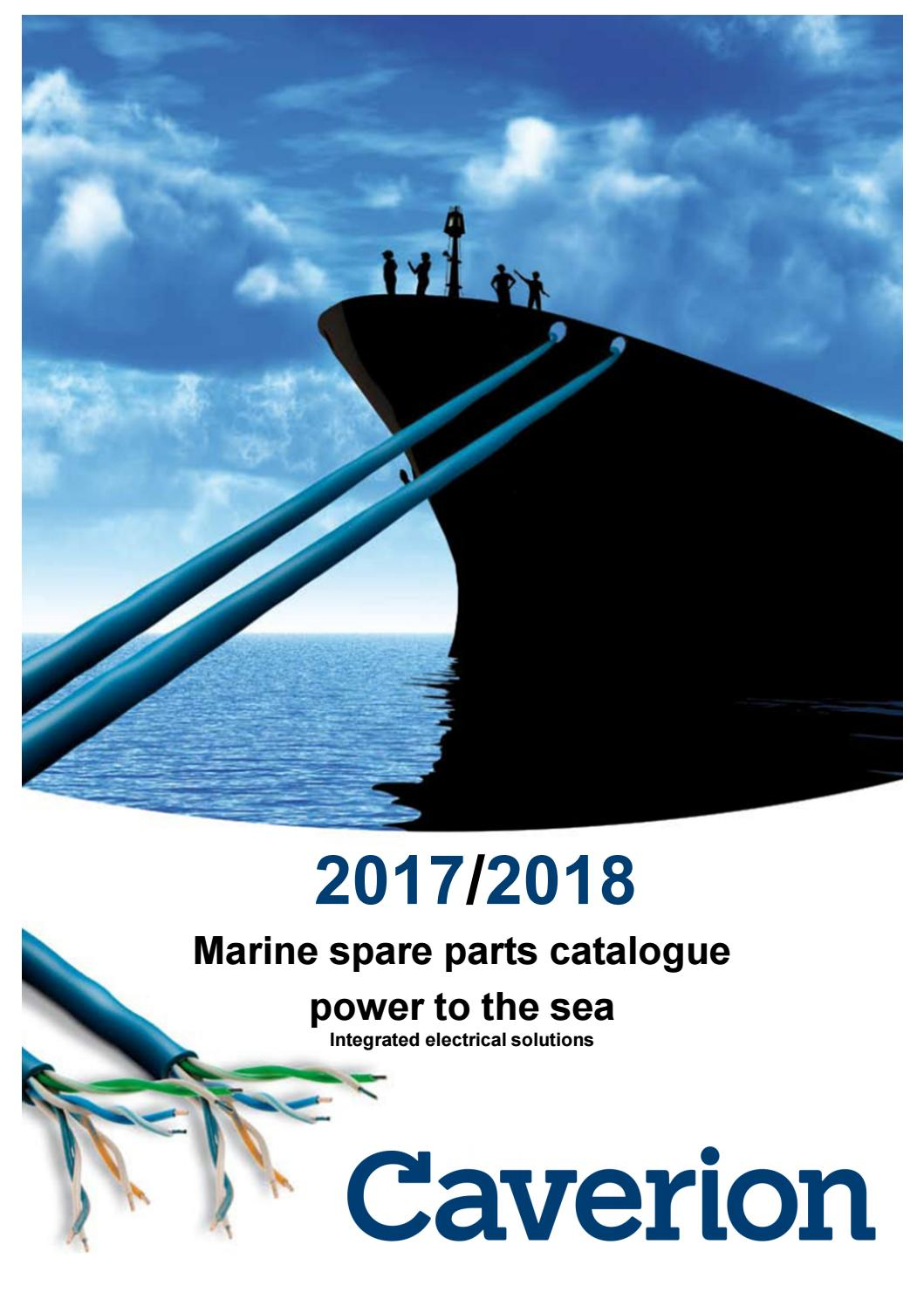 Exceptionnel Caverion Marine Catalogue 2017 / 2018 by Caverion Marine A/S - issuu OM47