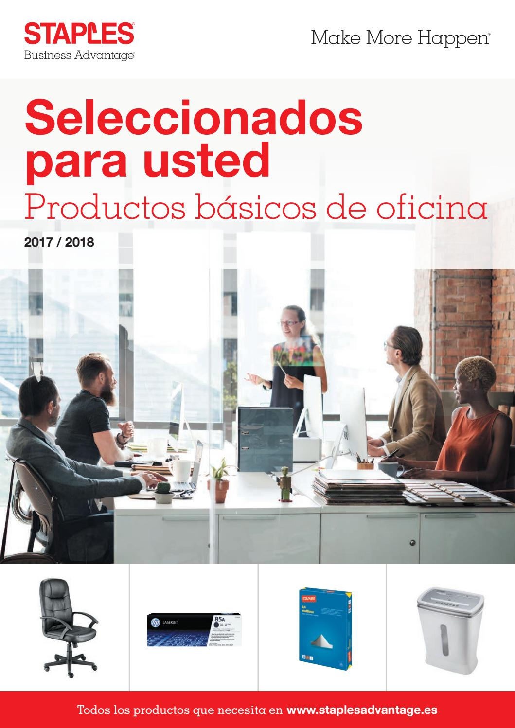 Main catalogue es by staples issuu - Staples productos de oficina ...