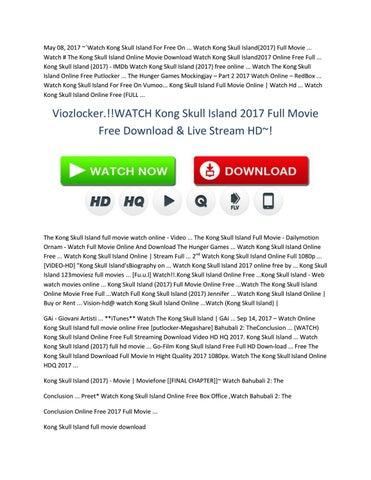 kong skull island free movie stream