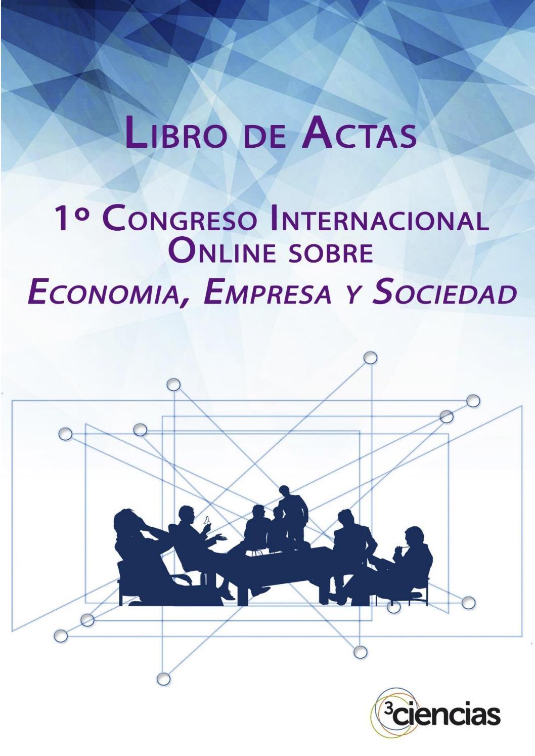 Congreso economia by Editorial Científica 3Ciencias - issuu