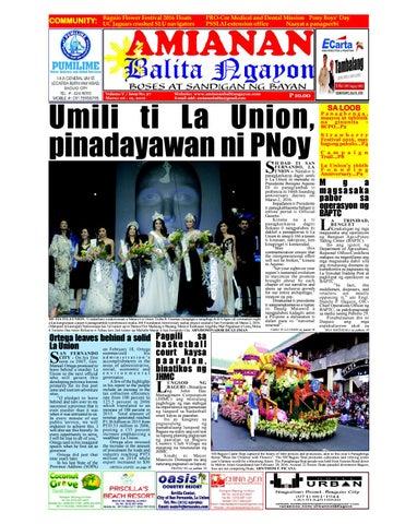 Umili ti La Union, pinadayawan ni PNoy by Amianan Balita