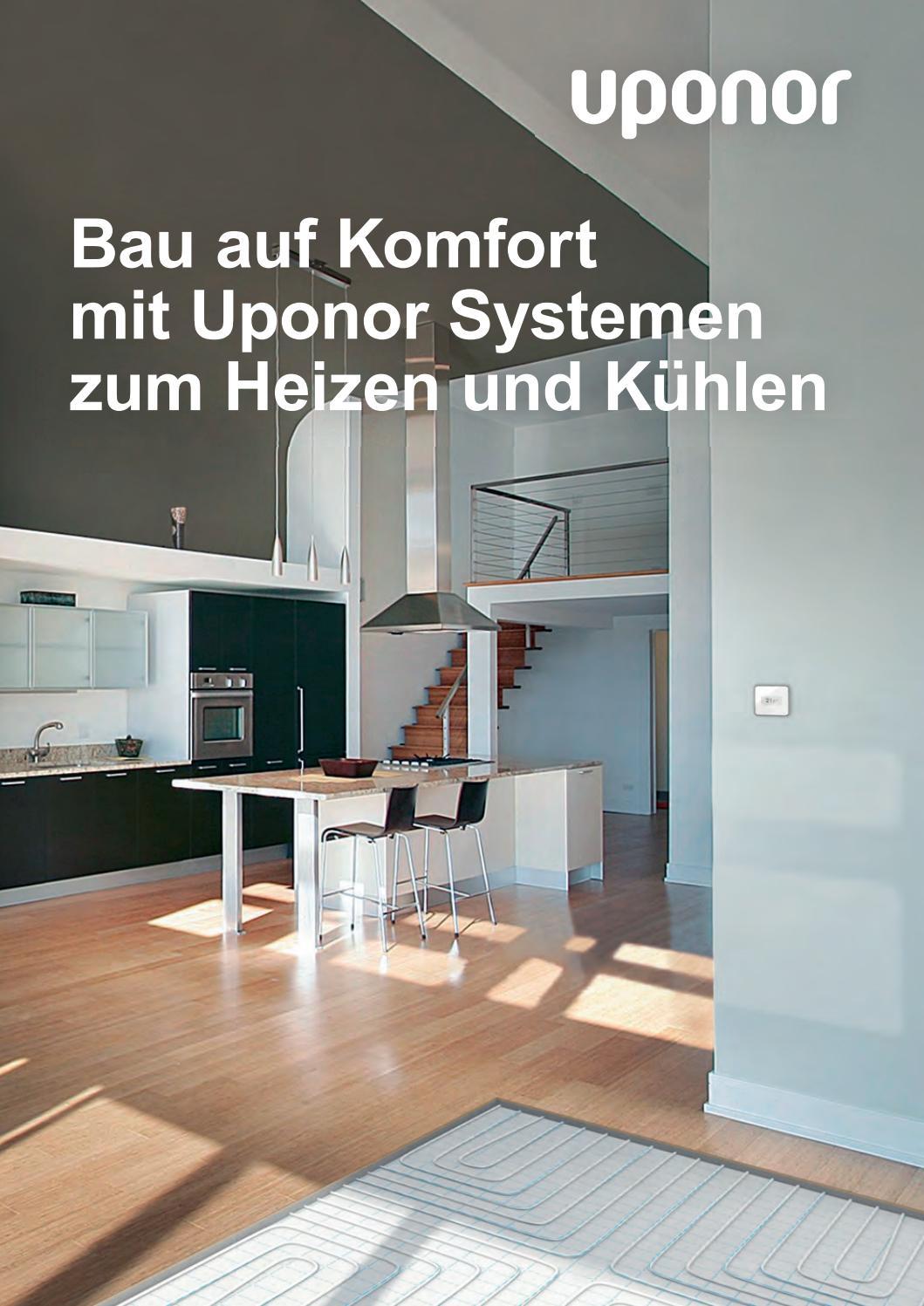 Uponor system broschuere heizen kuehlen comfort 1089167 de by Uponor ...