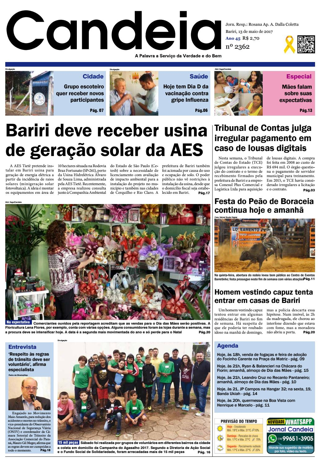 7f4eb3aaa0 Jornal candeia 13 05 2017 by Jornal Candeia - issuu