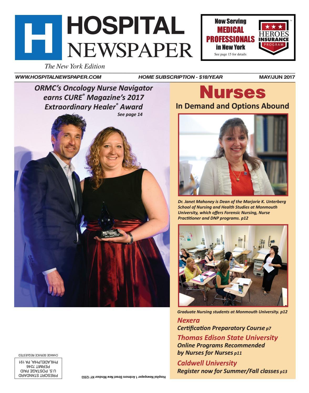 New York Hospital Newspaper Mayjune 2017 Ebook By Belsito