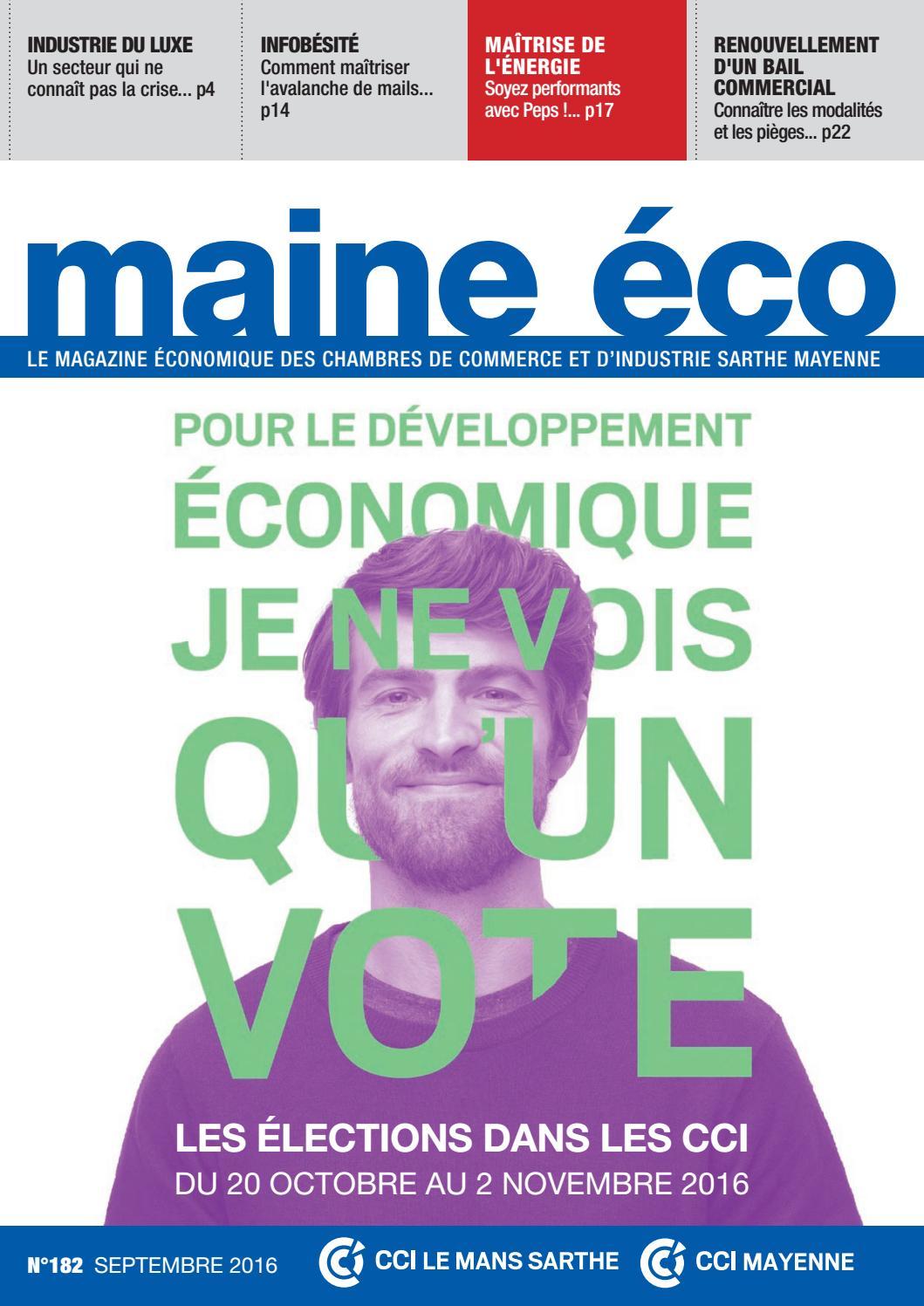 b1f46c51b Maine éco n°182 by frédéric RENAULT - issuu