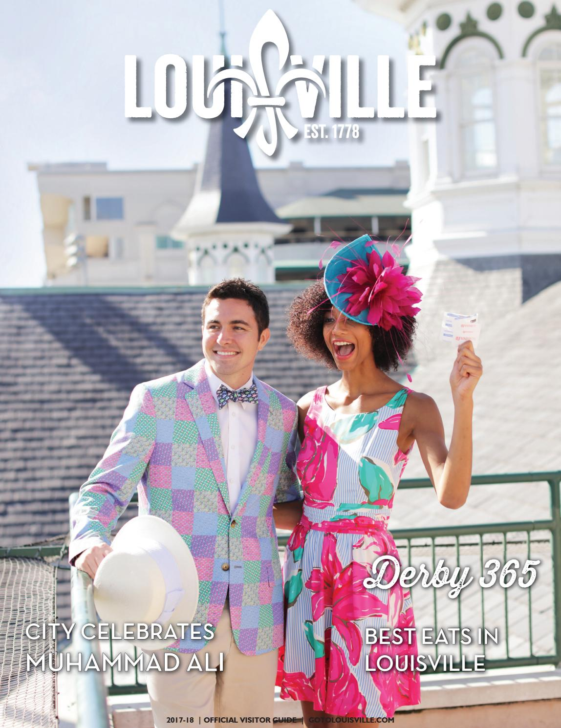 2017 Louisville Visitor Guide by Louisville Convention   Visitors Bureau -  issuu b94ff7474b6