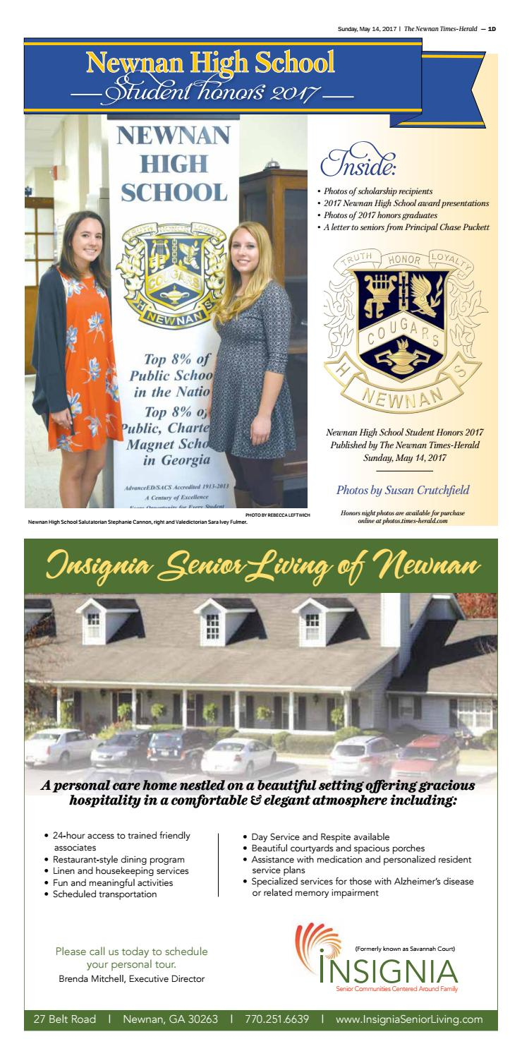 Nhs honors 2017 by The Times-Herald - issuu