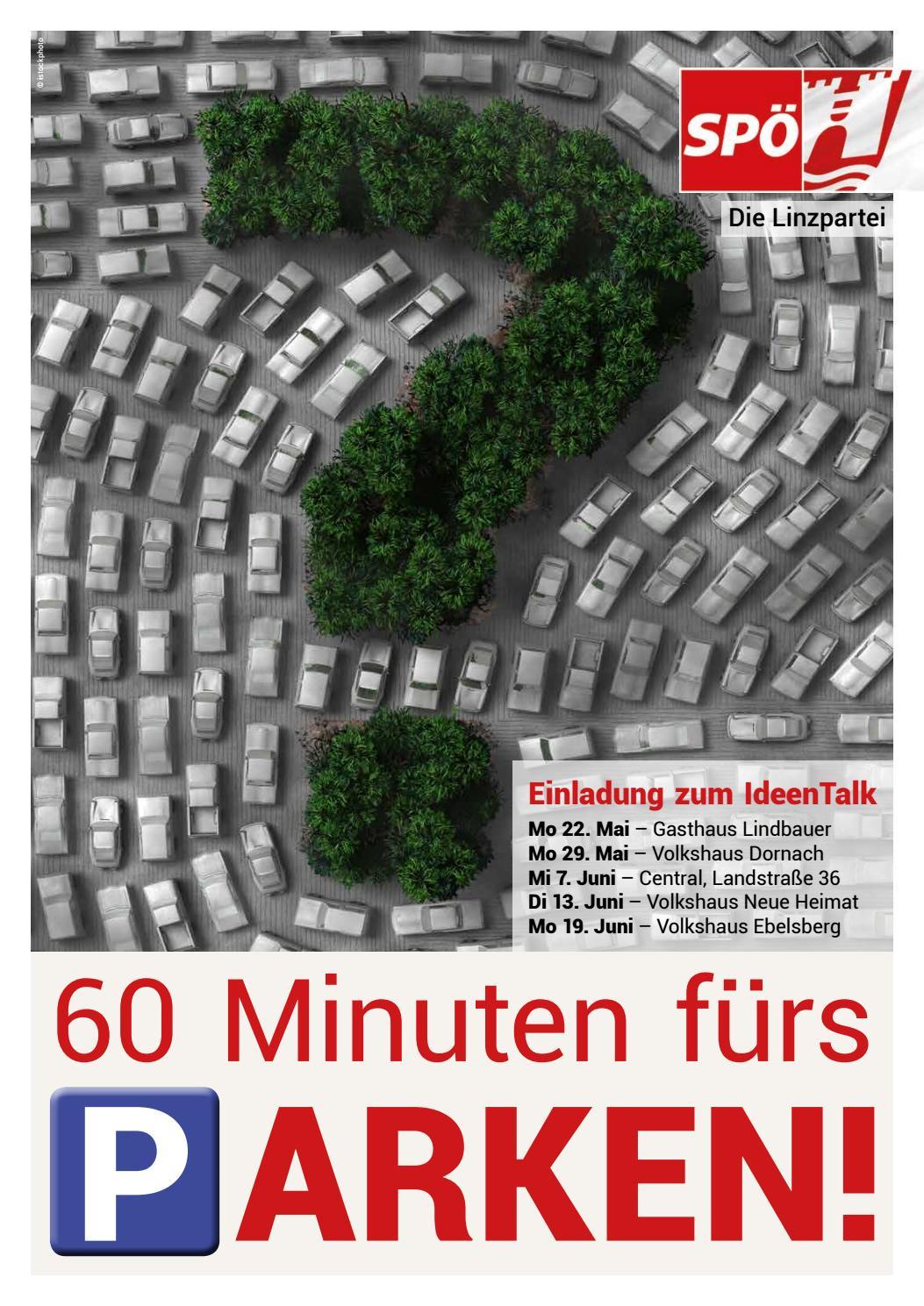 60 Minuten fürs Parken! 5x in Linz by SPÖ Die Linzpartei - issuu