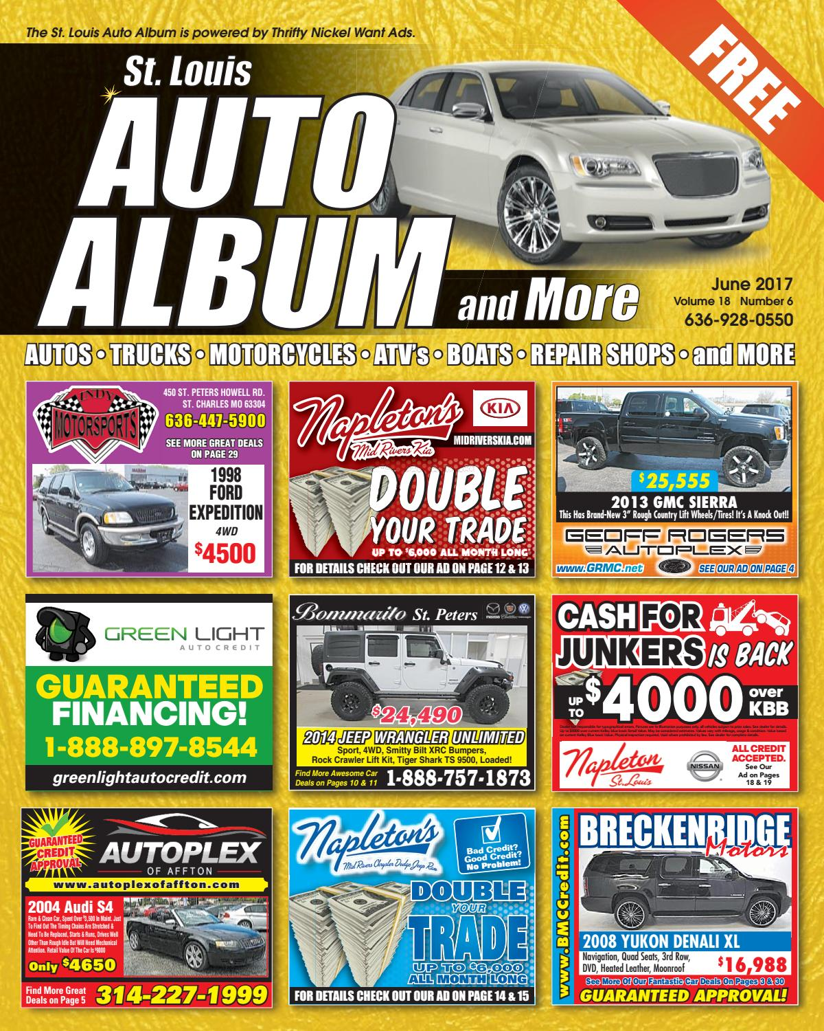 June 2017 Auto Album by Thrifty Nickel Want Ads St  Louis - issuu
