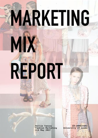 fe690f399880 Marketing Mix Report  ASOS and Miu Miu by Hollie Melissa Tansey - issuu